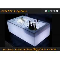 Best Modern color changing rechargeable bright led bar table , led glow furniture wholesale