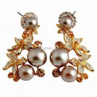 Buy cheap Fashionable earrings for wedding, anniversary and party from wholesalers