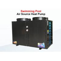 China Swimming Pool Commercial Air Source Heat Pump Shell Heat Exchanger Long Life Span on sale