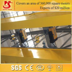 Quality QD model workshop use double girder 30 ton overhead crane for sale