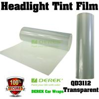 Quality Car Headlight Tint Film 3 layers 0.3*10m/roll - Transparent / Clear for sale
