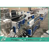 Quality 25~60 Mm Plastic Profile Production Line Plastic Trunking Equipment Easy Operation for sale
