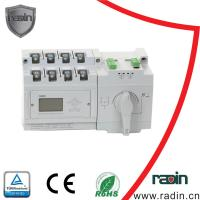 Quality 60Hz Dual Power Automatic Transfer Switch , AC 230V Automatic Changeover Switch for sale