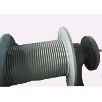 Quality S355 J2G3 Spiral Grooving Hoist Barrel for Hydraulic Winch / Windlass for sale