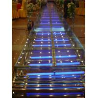 Quality Acrylic Wedding Stage / Acrylic Platform Stage / Swimming Pool Glass Stage for sale