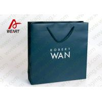 Best Soft Touch Film Strong Custom Printed Paper Bags No Minimum Silk Screen Printing wholesale