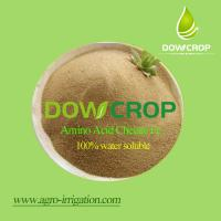 China DOWCROP Hot sale High qulity AMINO ACID CHELATED IRON 100% water soluble fertilizer Organic fertilizer on sale