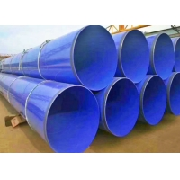 Quality CNAS 3PE Outside Coating Lined Pipe Fittings / Ss Pipe Fittings for sale