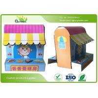 Quality OEM Full Color Printing Cardboard Handmade Paper Books For Train Children Hands On Ability for sale