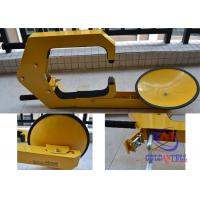 China Anti static Truck steering wheel clamp lock with anti prizing and anti theft function on sale