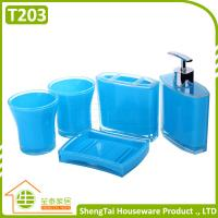 Best Modern Design Popular Eco-Friendly Plastic Bath Accessory Set With Cheap Price wholesale