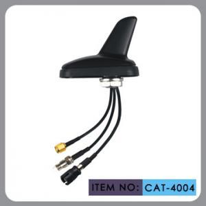 Best Auto AM FM Gps External Antenna , Shark Fin Car Aerial RHCP Polarization wholesale