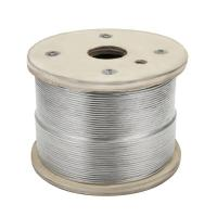 China 1x19 Stainless Steel Wire Rope Cable Railing 1000ft For Aircraft Cable on sale