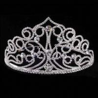 Buy cheap Bridal Hair Accessories for Wedding and Party, Measures 15 x 9cm from wholesalers