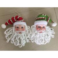 Best Santa claus heads hanging christmas decor wholesale