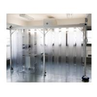Quality SUS304 / SS304 Class 100 Pharmacy Clean Room With PVC Plastic Curtain Wall for sale