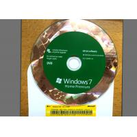 Buy Original DVD Win 7 Basic Home , Windows 7 Retail Version For 1 PC Using at wholesale prices