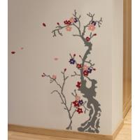 Best Designer Decorative Contemporary Tree Wall Flower Stickers F326 wholesale