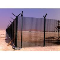 Quality 3 Inch × 0.5 Inch 8 Gauge Welded Mesh Security Fencing , Prison Mesh Fencing for sale
