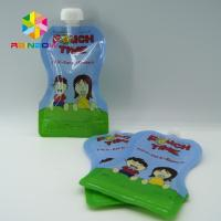 Best Custom Reusable Liquid Stand Up Liquid Spout Bags Baby Food Packaging Bag wholesale