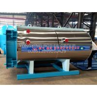 Quality Industrial Natural Gas Hot Water Boiler Horizontal Fire Tube Boiler For Green House for sale