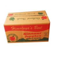 Quality Moistureproof Fresh Fruit Brown Shipping Boxes Eco - Friendly Custom Color for sale