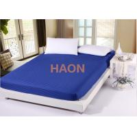 Dense Twin Full Queen King Size Bed Sheets Cover , Hotel White Bed Linen