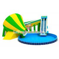 Buy Multi Color Metal Frame Pools With Galvanized Steel Pipes Easy Assemble at wholesale prices