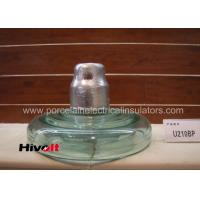 Quality U210BP Fog Type Toughened Glass Insulator Stainless Steel Cotter Key Material for sale