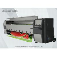 Best Digital Industrial Inkjet Flex Banner Printer Seiko 508GS Head Challengr 3286E wholesale