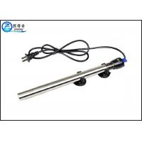 Best 100W Submersible 304 Stainless Steel Aquarium Heaters With Double Seal Protection wholesale