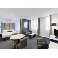 Buy cheap Solid Wood Style Hotel Apartment Furniture Sets With Ashtree Chair from wholesalers