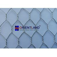 """Quality 3/4"""" Chicken Wire Cloth , Hot Dipped Galvanized Poultry Netting Strong Structure for sale"""