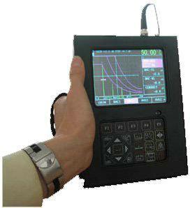 Quality BNC Port Digital Ultrasonic Flaw Detector 0.5MHz - 20MHz 40dB Resolution SUD20 for sale