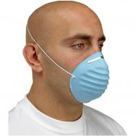 China Disposable Woodworking Dust Mask Home Depot Respirator With Nose Bar Bacteria Proof on sale