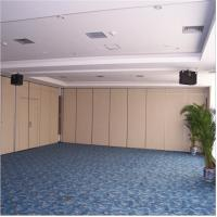 Quality Wall Mount Soundproof Sliding Movable Mirror Partition Wall In office Partitions for sale