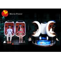 Quality Electric System 9D VR Cinema Egg Cinema Equipment For Park / Busy Street for sale