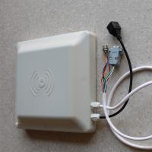 8Dbi Antenna Rfid Integrated Reader , Access Control Long Distance Rfid Reader