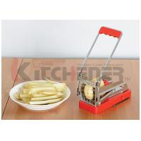 China Solid Aluminum Alloy French Fries Cutter Durable Anti Corrosion With 3 / 8 Cutting Blades on sale