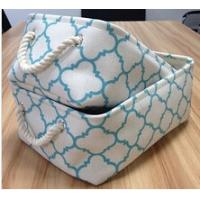 Best Set 2, fabric decorative storage box with cotton rope handle wholesale