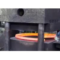 Hot rolled carbon steel welding flange casting and rolling line