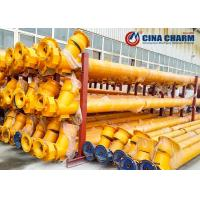 Quality Flexible Auger Screw Conveyor Machine For Powder Conveying LSY219 LSY273 LSY325 for sale