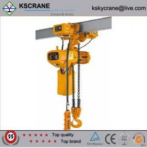 China High Quality 1ton Electric Chain Hoist/Manual Chain Hoist on sale