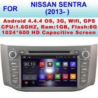 Quality HD 8 Inch 2013+ Nissan Sentra DVD Player , Nissan Sat Nav DVD Pixel 1024 X 600 for sale