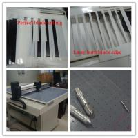 Quality Clean knife pvc cutting machine totally environmental friendly for sale