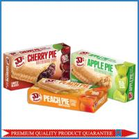China Food Grade Customized Color Print Fruit Pie Apple Paper Packaging Box on sale