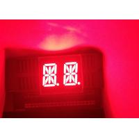 China High quality cheap price 0.54 inch 2 digits 14 Segment super red LED Graphic-Bar Display common anode on sale