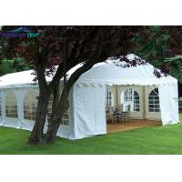China Ourdoor Marquee Event Tent Solid Aluminum Structures / 500 Peopple Garden Wedding Marquee Tent on sale