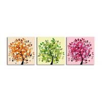Quality Abstract Canvas Printing Service with wooden Frame for sale