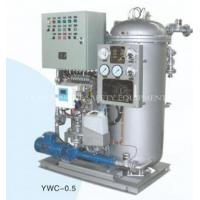 Quality YWC Series Marine Oil Water Separator/Marine Oily Water Separator for sale